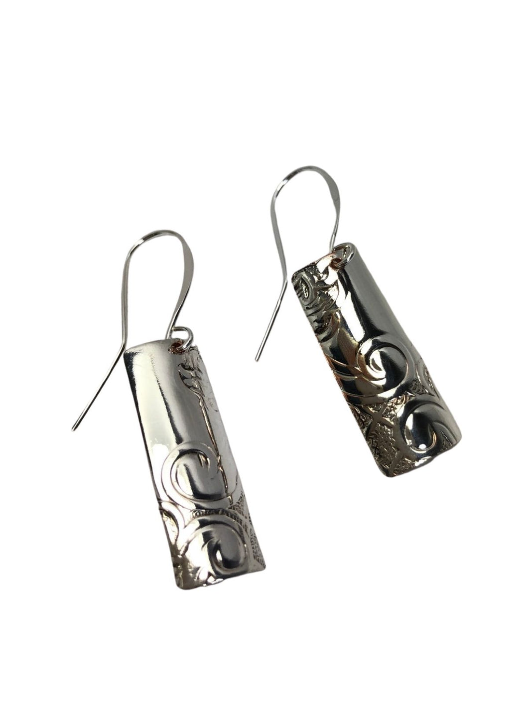VINTAGE SILVER COLLECTION EARRINGS - BAR DESIGN
