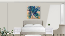 Load image into Gallery viewer, CUSTOM ART - FLEUR BLEU