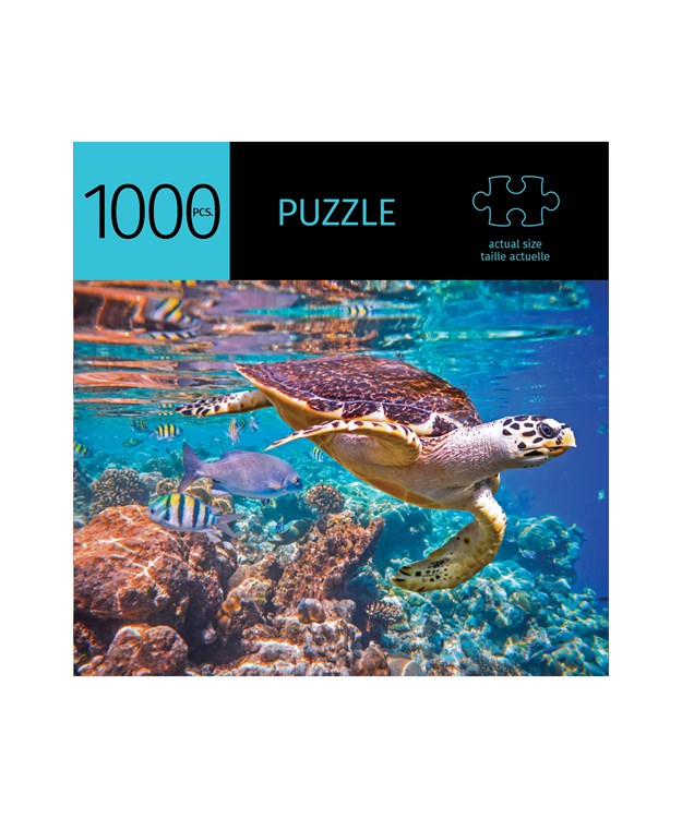 PUZZLE - 1000 PIECE SEA TURTLE