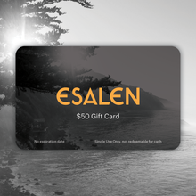 Load image into Gallery viewer, Esalen Digital Gift Certificate
