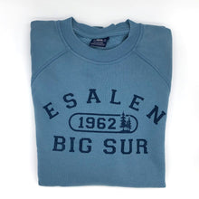 Load image into Gallery viewer, Esalen 1962 Sweatshirt in Light Blue - Size Small