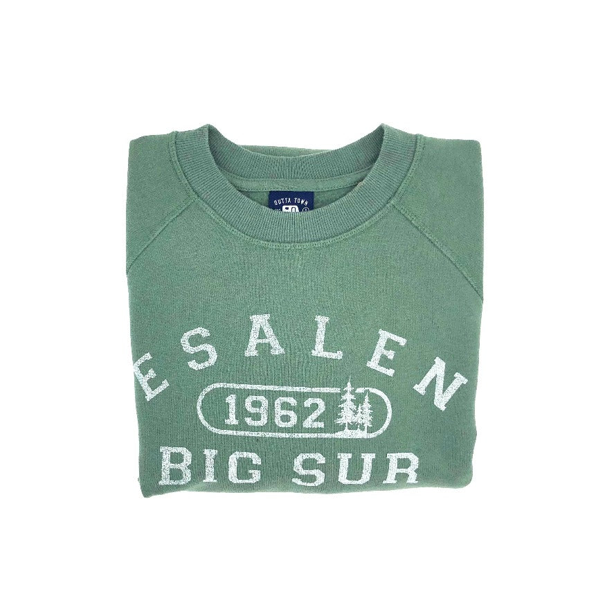 Esalen 1962 Sweatshirt in Nurture Green - Size Medium