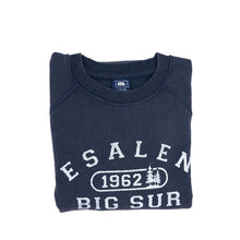Load image into Gallery viewer, Esalen 1962 Sweatshirt in Vintage Navy - Size Large