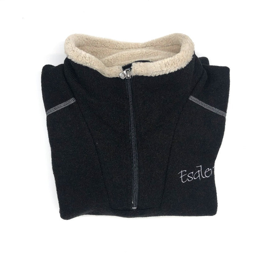 Esalen Men's 1/4 Zip-Up in Black size Medium