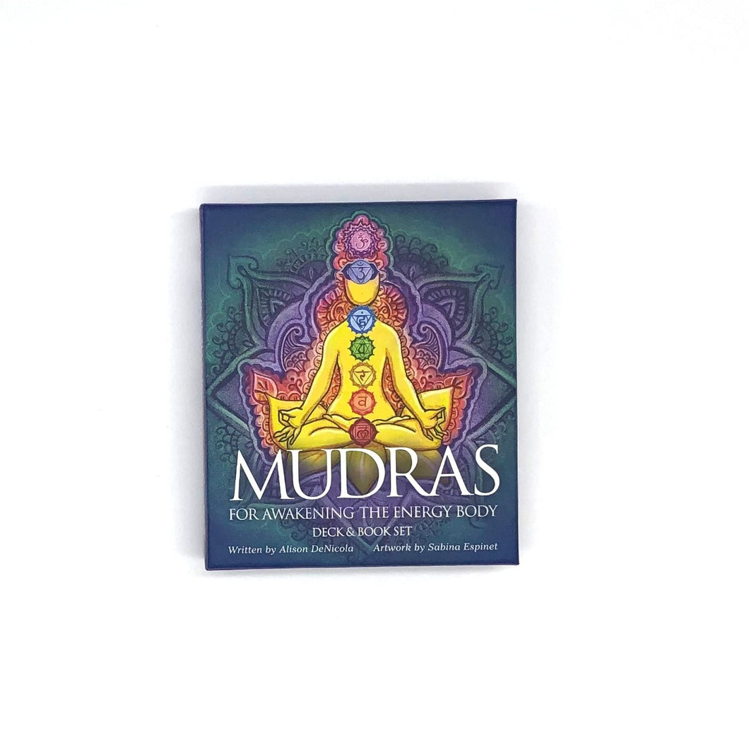 Mudras Card Deck for Awakening the Energy Body by Alison DeNicola