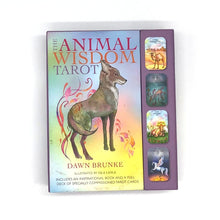 Load image into Gallery viewer, Animal Wisdom Tarot Deck by Dawn Brunke