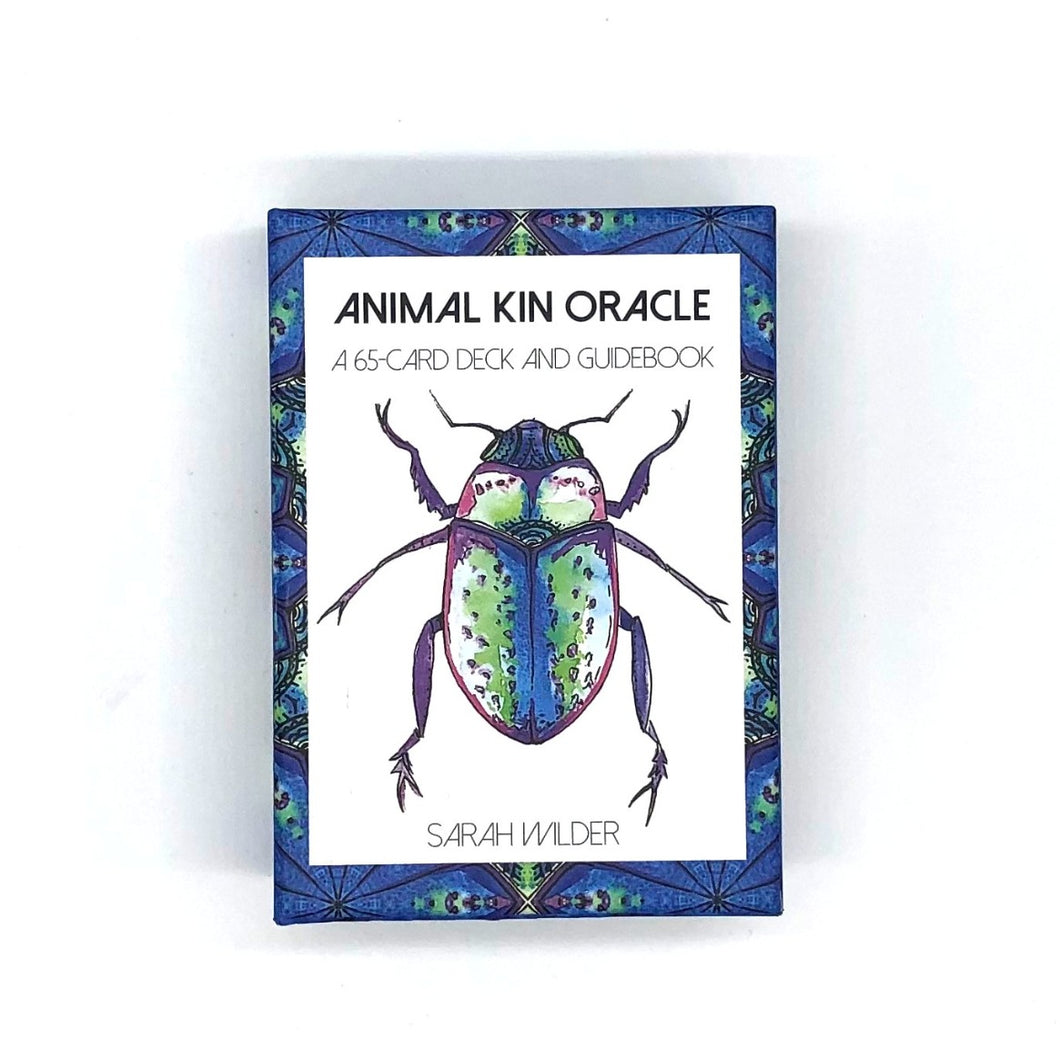 Animal Kin Oracle Deck by Sarah Wilder