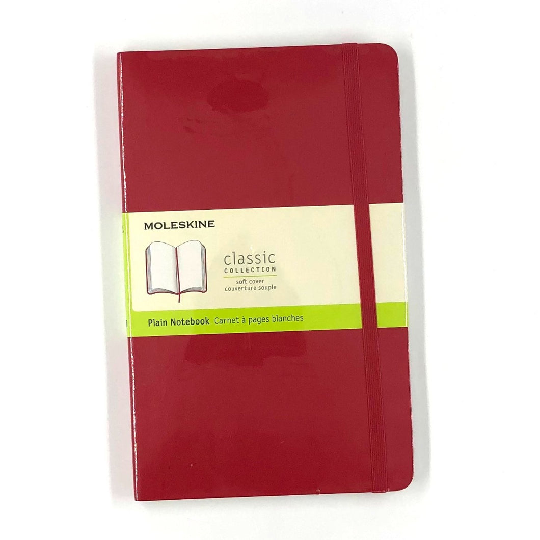 Moleskine Classic Journal Soft Cover in Red
