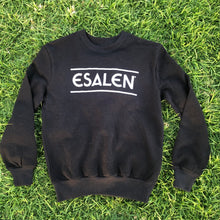Load image into Gallery viewer, Esalen Throwback Sweatshirt in Black, Size M
