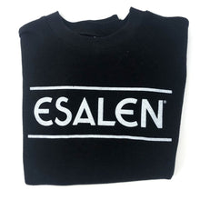 Load image into Gallery viewer, Esalen Throwback Sweatshirt in Black, Size S