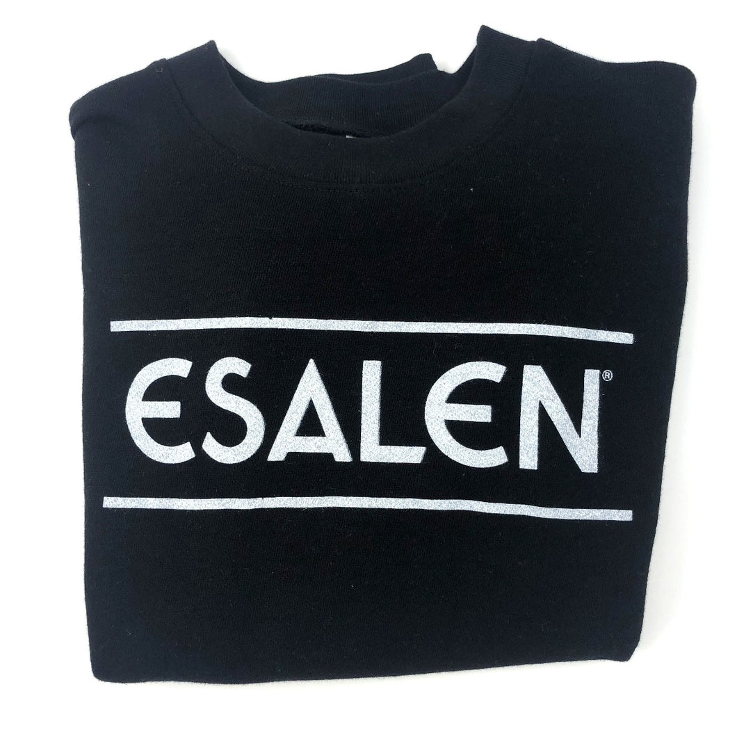 Esalen Throwback Sweatshirt in Black, Size M