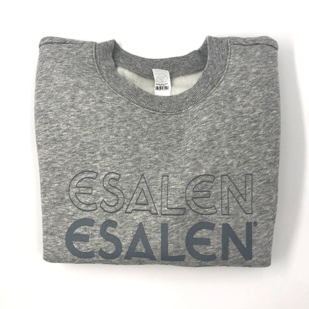 Esalen Eco Cozy Sweatshirt in Grey, Size L