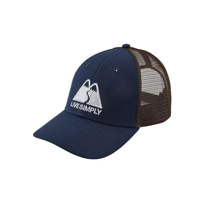 Patagonia Live Simply Winding LoPro Trucker Hat - Unisex - Alpine ... 74993ff3949