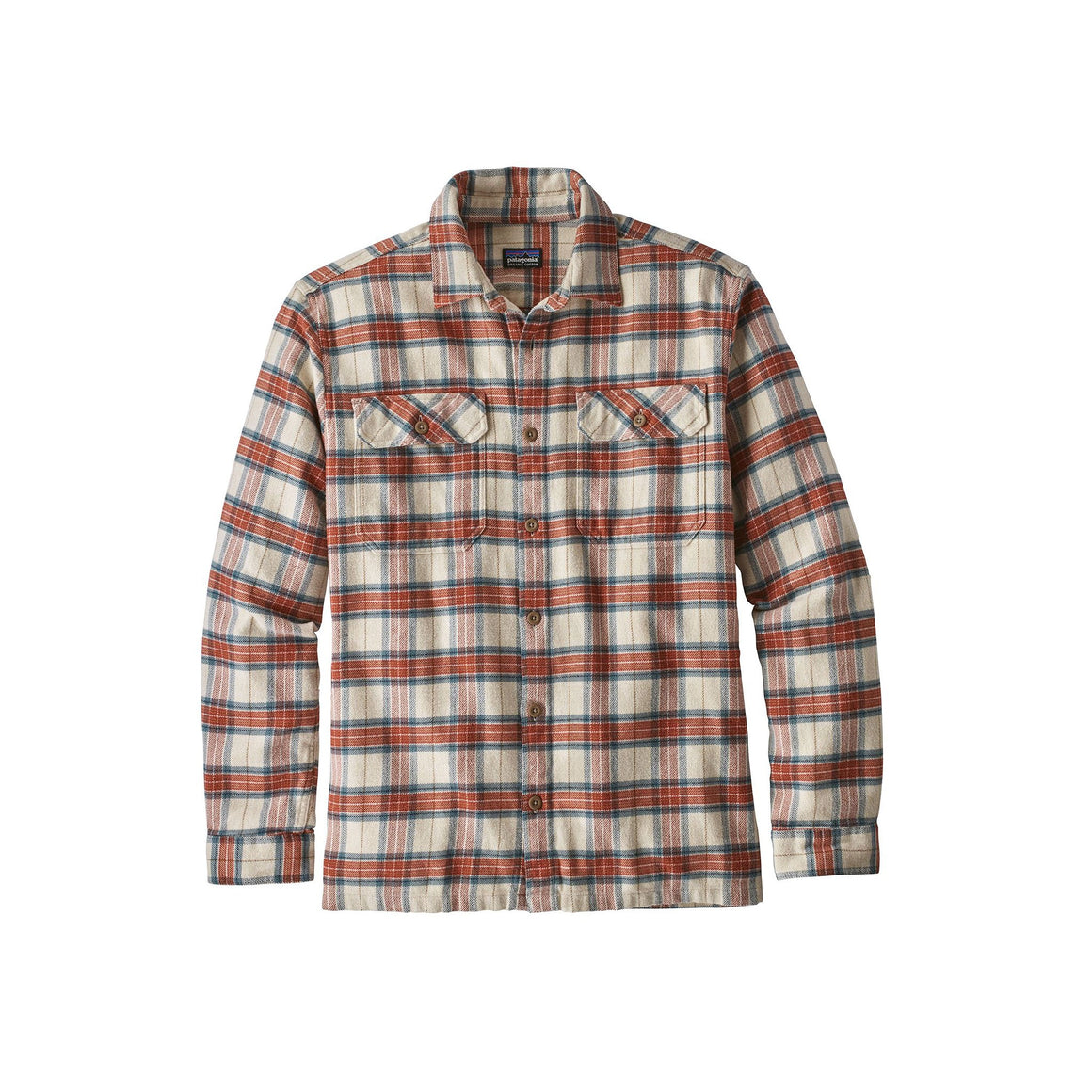 Patagonia Long Sleeved Fjord Flannel Shirt - Men's