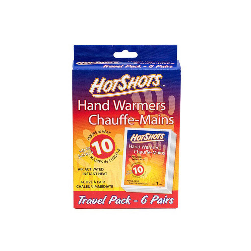 Hot Shots Hand Warmers 6 Pack