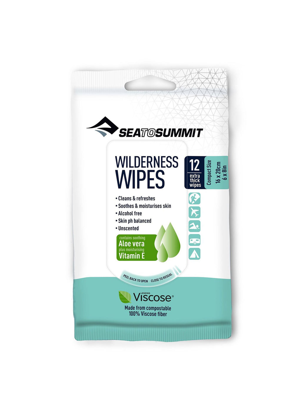 Sea to Summit Wilderness Wipes 12 Pack