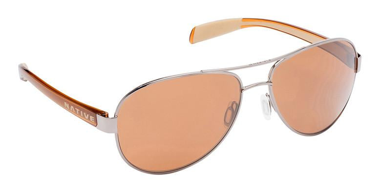 Native Patroller N3 Brown Polarized Chrome/Crystal/Brown