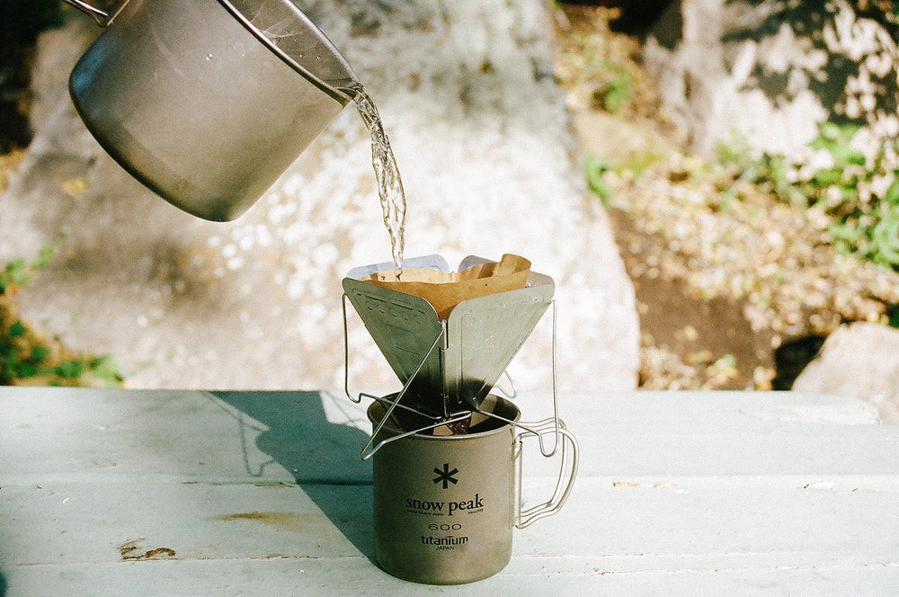 Snow Peak Fold Down Collapsible Coffee Drip