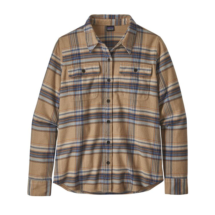 Patagonia Long-Sleeved Fjord Flannel Shirt - Women's