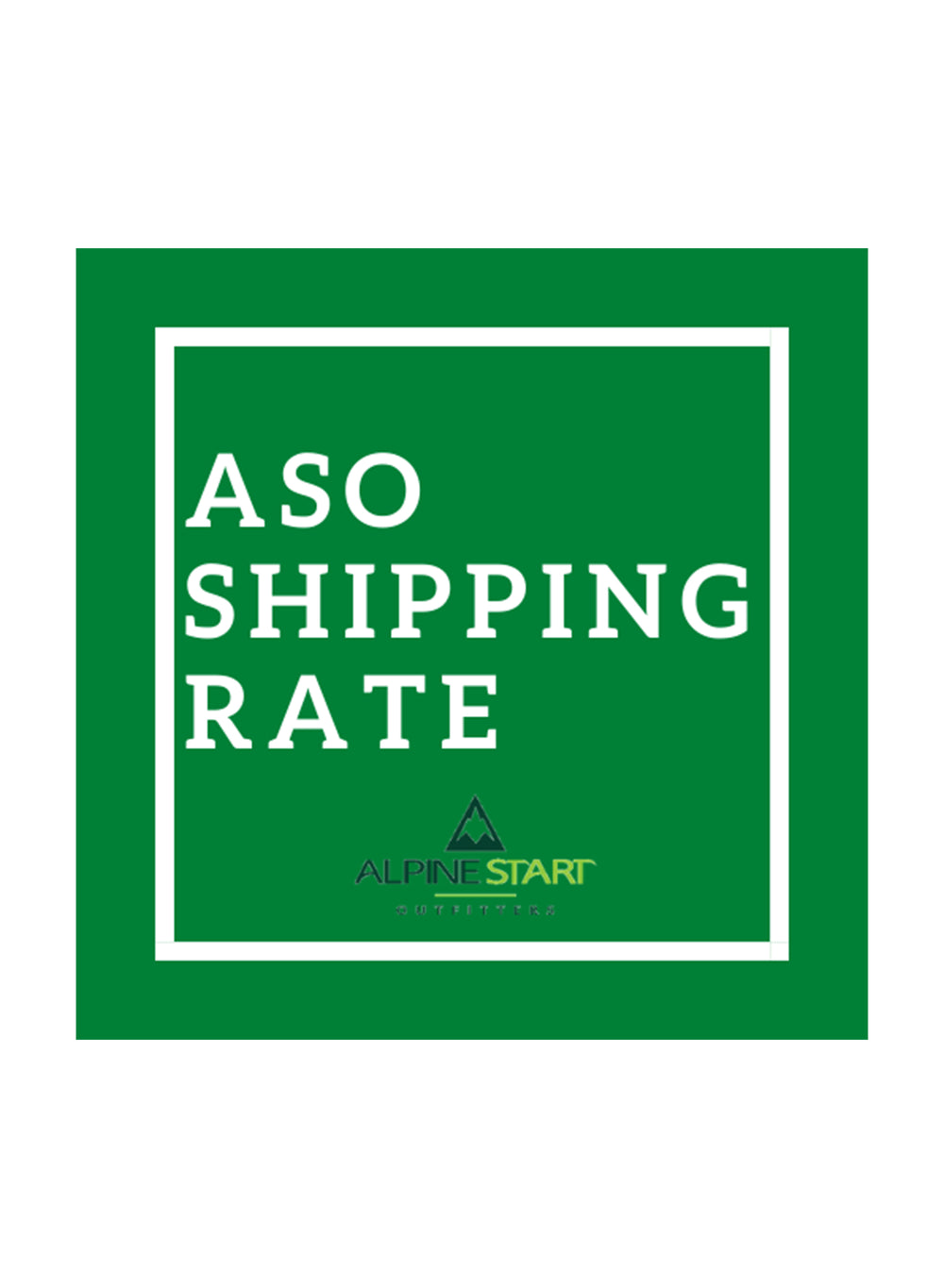 Flat Rate Shipping Fee