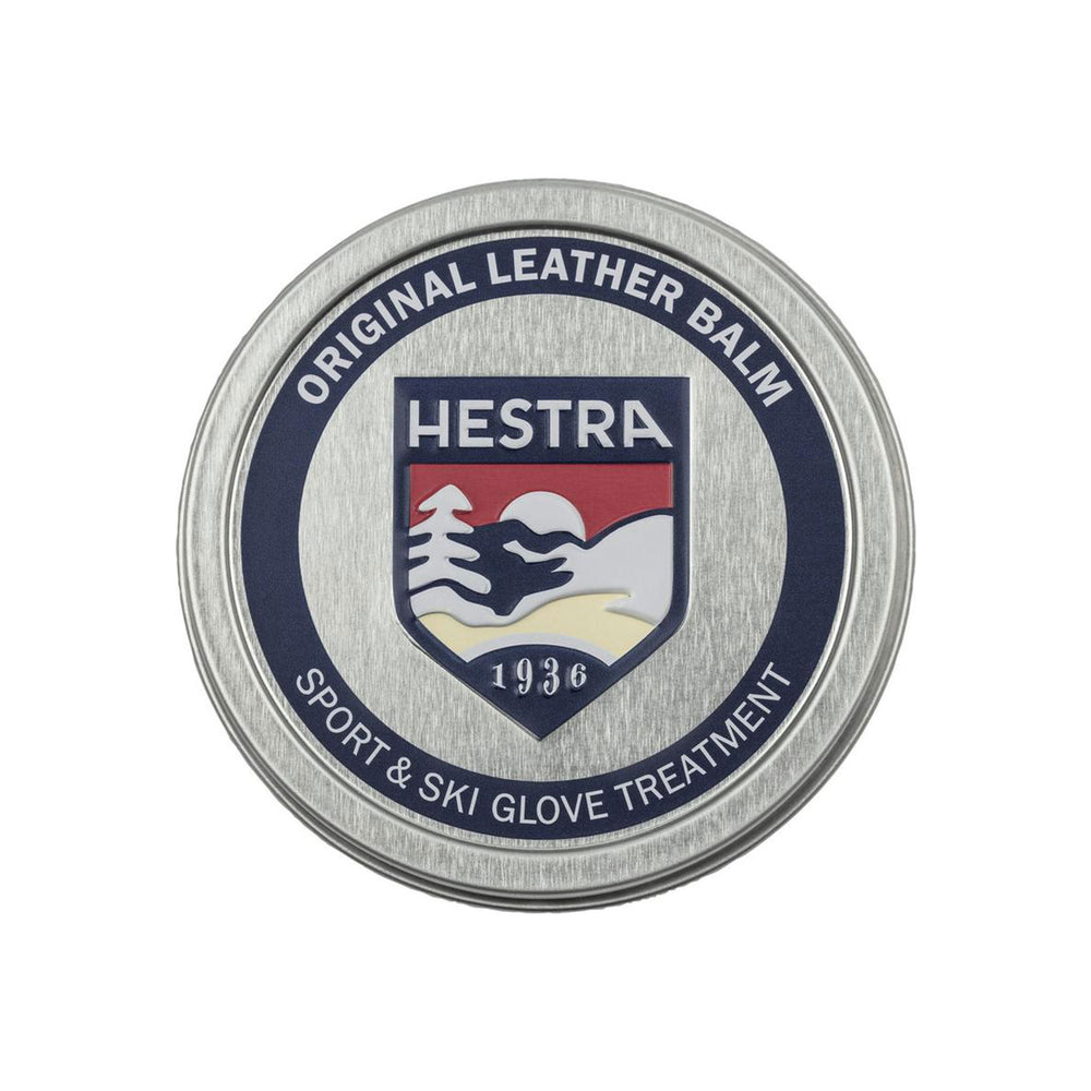 Hestra Leather Balm Metal Container