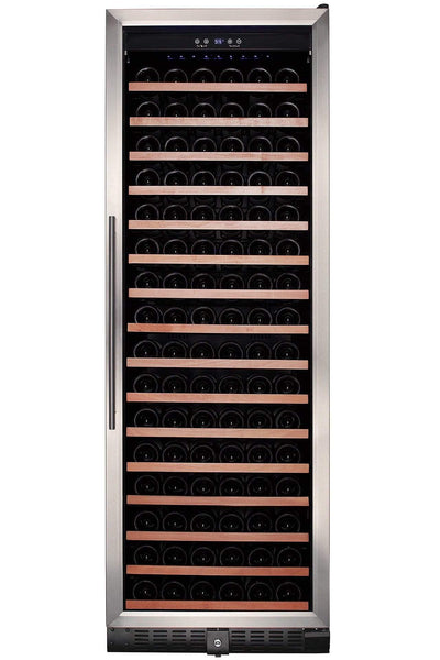 Smith & Hanks Smith & Hanks 166 Bottle Dual Zone Wine Cooler, Smoked Black Glass Door RW428DRG RE100017