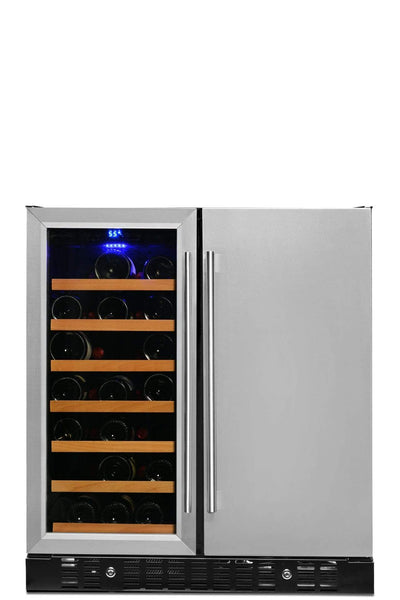 Smith & Hanks Smith & Hanks Wine & Beverage Cooler, Smoked Black Glass Door BEV176SD