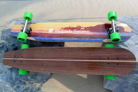 The Old School Cruiser - Mudjimba Cruisers Longboard Skateboard deck