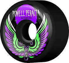 Powell Peralta Skateboard Wheels Bomber 60mm 85a Black