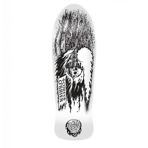 "SANTA CRUZ - COREY O'BRIEN REAPER DIY MY COLOURWAY 9.85"" REISSUE SKATEBOARD DECK"