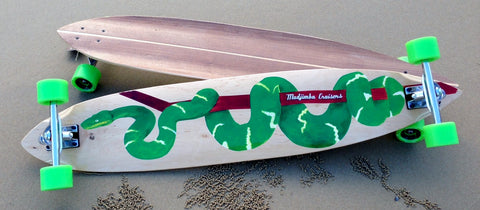 Mudjimba Cruisers - The Carver - Longboard Skateboard