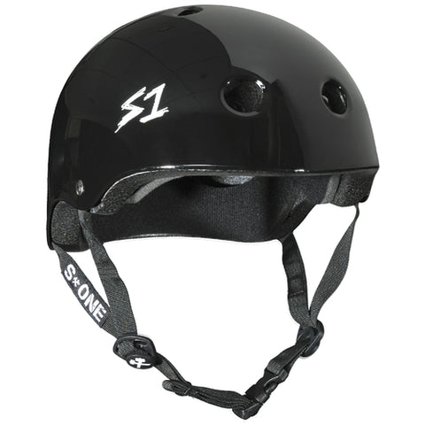S-One Helmet Lifer Black Gloss