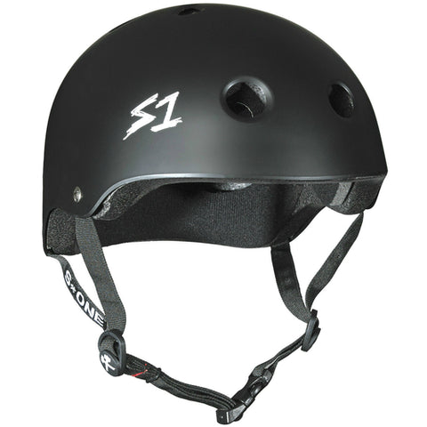 S-One Helmet Lifer Black Matte