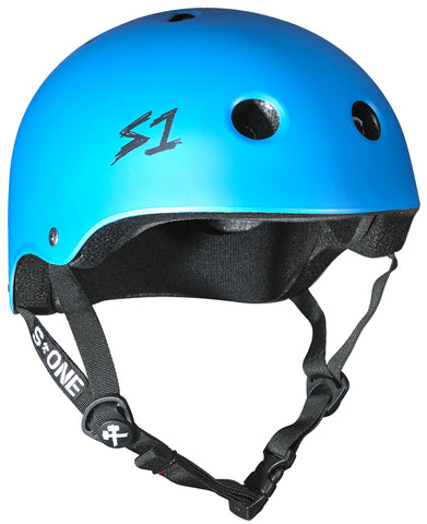 S-One Helmet Lifer Cyan Matte