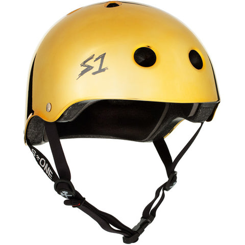 S-One Helmet Lifer Gold Mirror