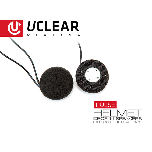 Uclear Pulse - Wired Drop-In Helmet-luidsprekers