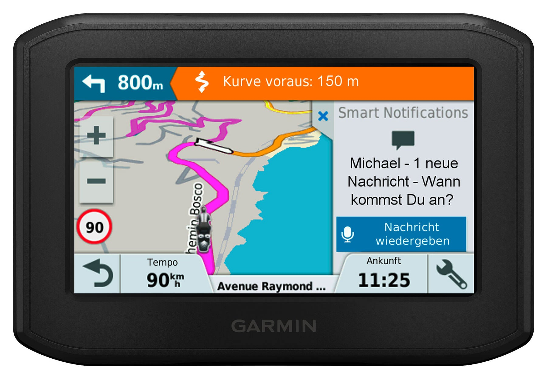 Garmin zumo 346 LMT-S west europa 2e hands