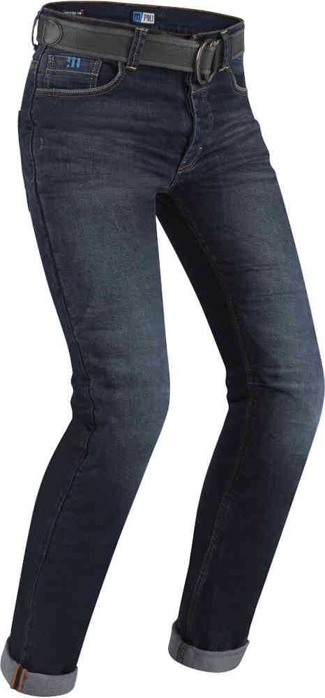 PMJ caferacer jeans blauw