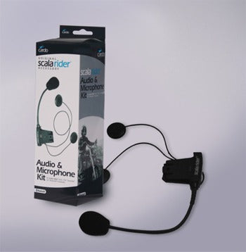 CARDO SCALA RIDER AUDIO KIT, XL SIZE, DOUBLE SPEAKERS Q-LINE, MP3 INPUT