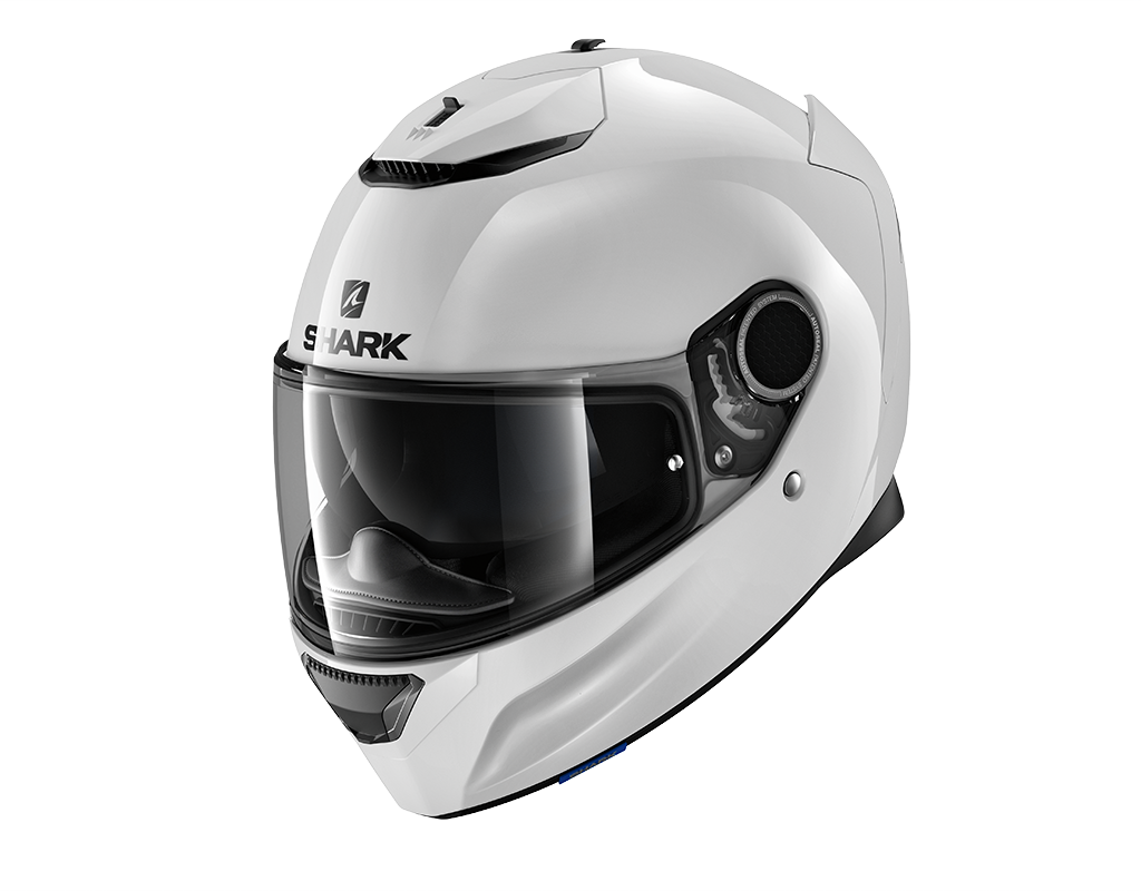 SHARK SPARTAN 1.2 BLANK WHITE