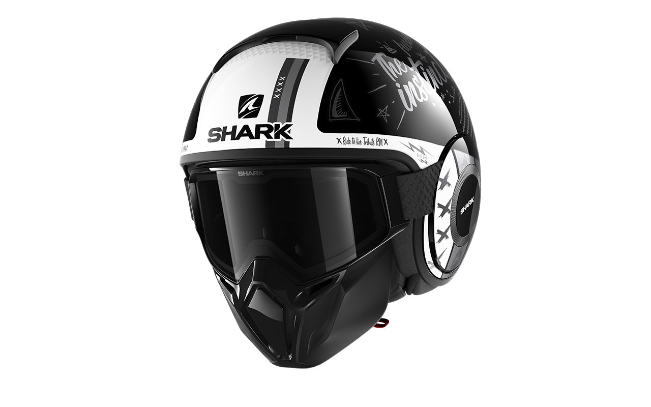 SHARK STREET DRAK TRIBUTE RM Black Antracite White