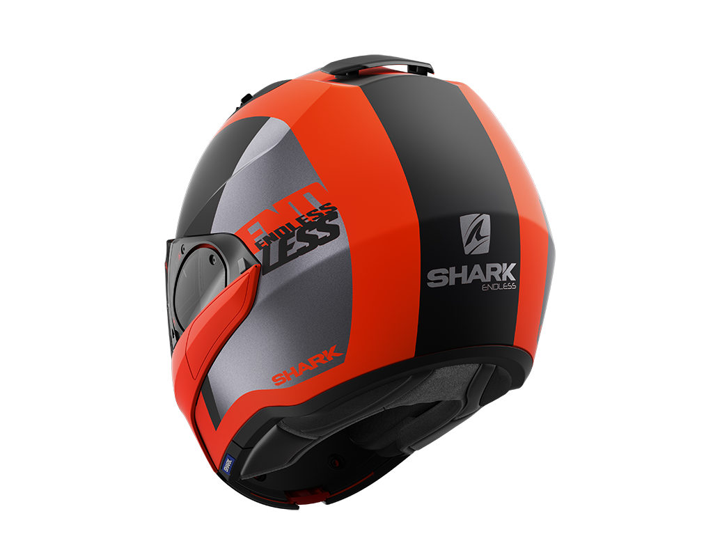 SHARK EVO ES ENDLESS MAT ORANGE BLACK