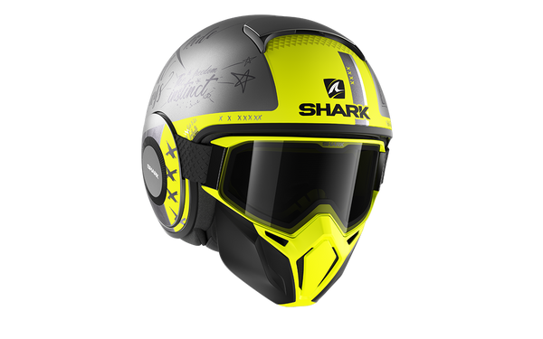 SHARK STREET DRAK TRIBUTE RM Mat Antracite Silver Yellow