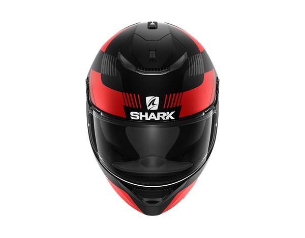 SHARK SPARTAN 1.2 STRAD Mat Black Red Anthracite