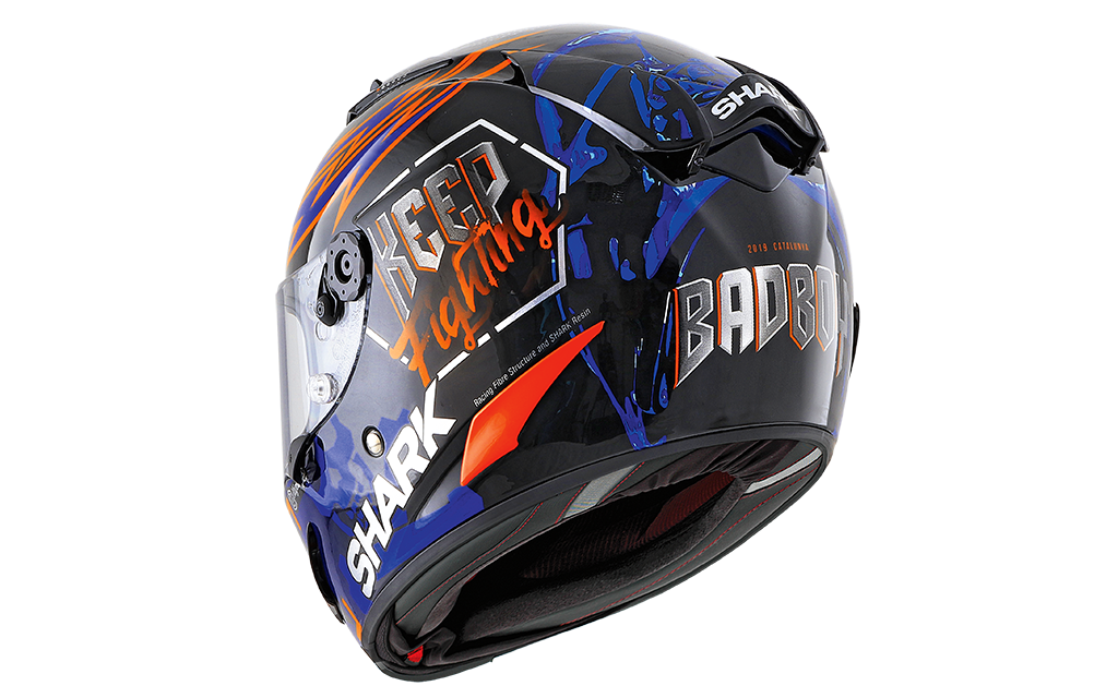 SHARK RACE-R PRO LORENZO CATALUNYA GP 2019 GP  Black Red Blue