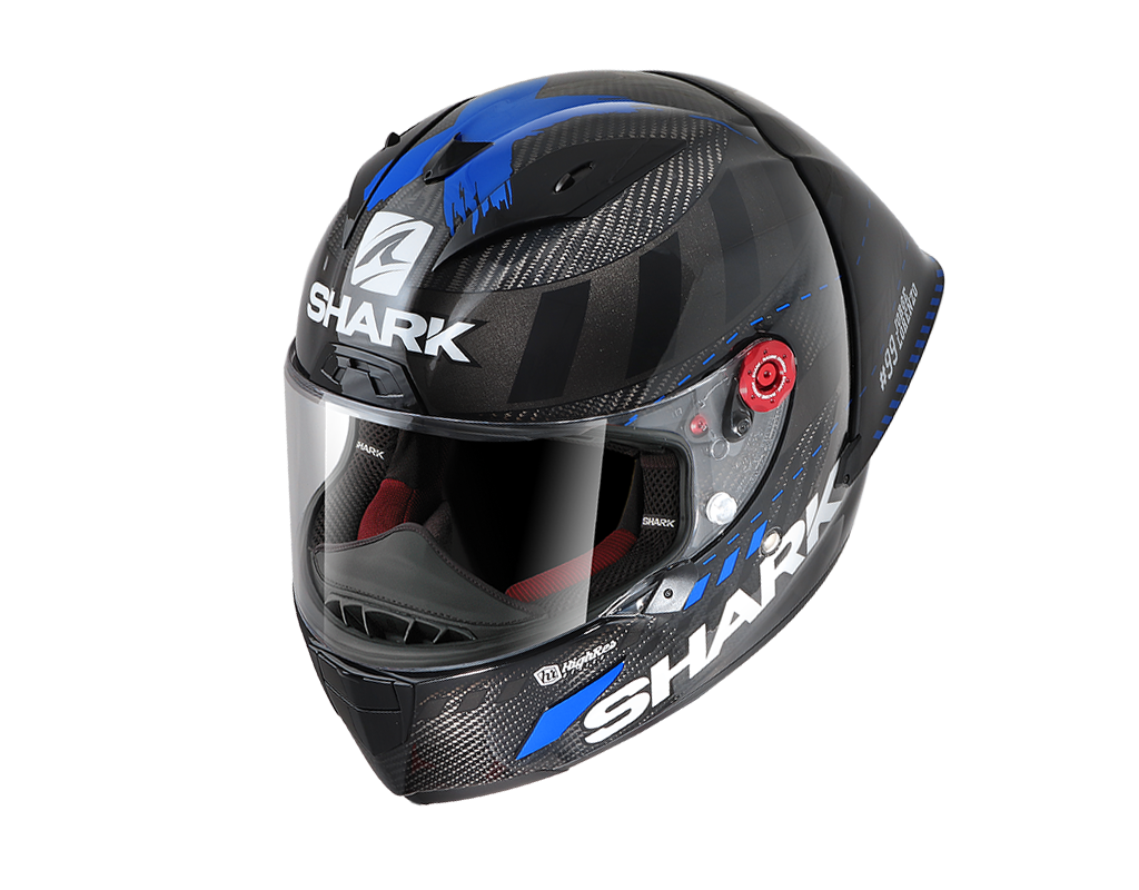 SHARK RACE-R PRO GP LORENZO WINTER TEST 99 Carbon Antracite Red