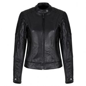 MOTOGIRL Valerie Leather Jacket Black