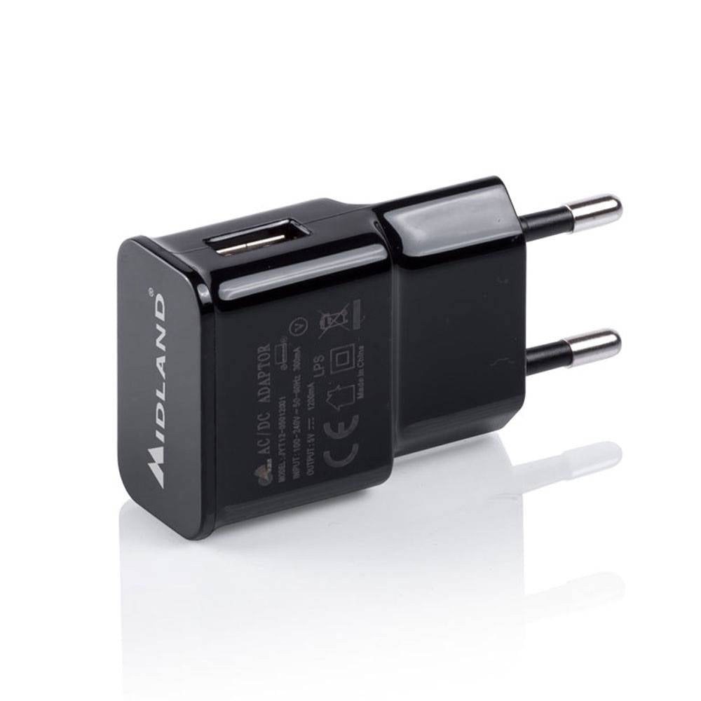 Midland wall adapter USB 5V-1A