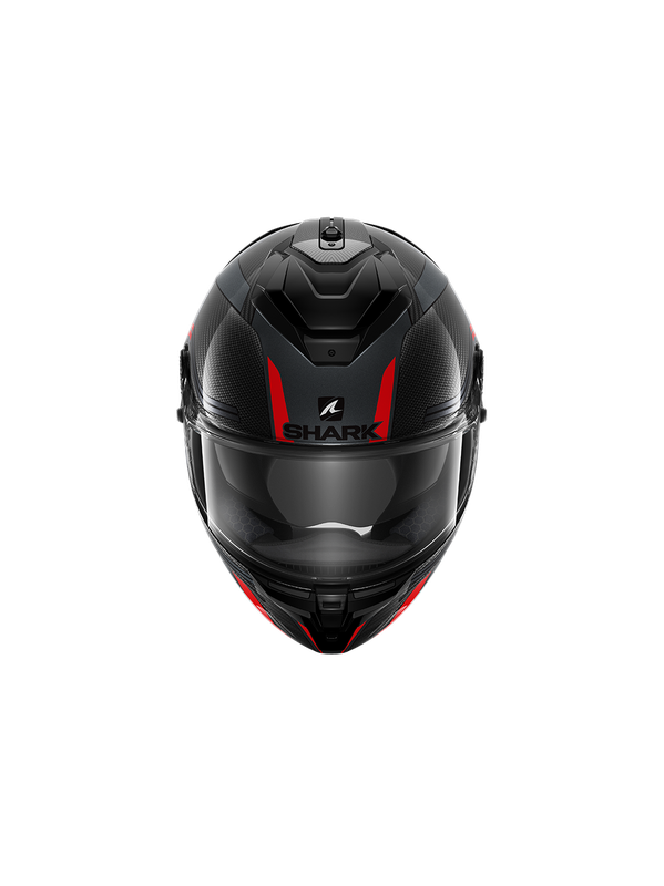 SHARK Spartan GT Carbon Tracker, carbon antracite red