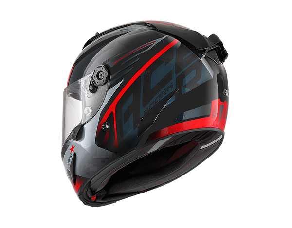 SHARK RACE-R PRO ASPY  Black Antracite Red